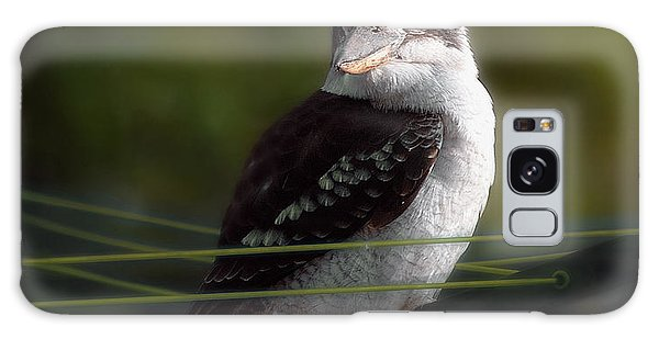 Kookaburra Hoists On The Hills Galaxy Case by Vicki Ferrari