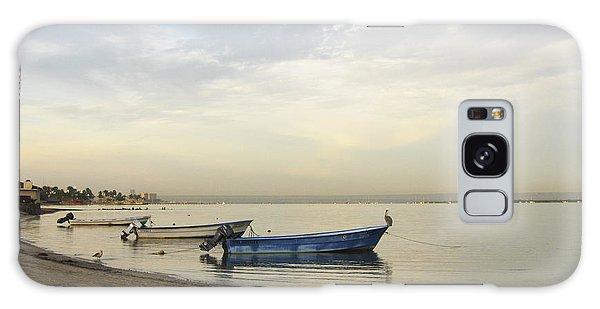La Paz Waterfront Galaxy Case by Anne Mott