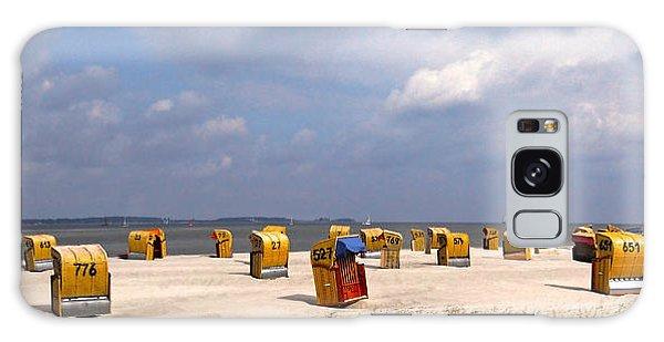 Laboe Beach ... Galaxy Case