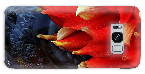 Lady In Red Galaxy Case by Jeanette C Landstrom