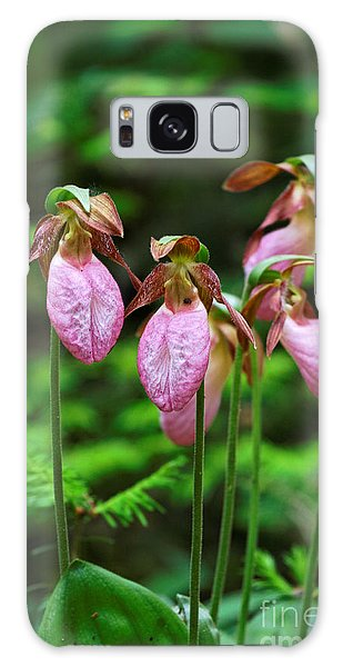 Lady Slippers Everywhere Galaxy Case