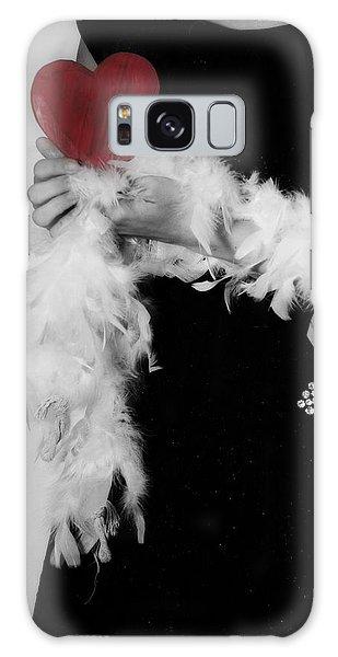 Boa Constrictor Galaxy Case - Lady With Heart by Joana Kruse