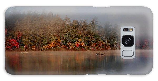 Lake Chocorua Sunrise Galaxy Case by Nancy De Flon