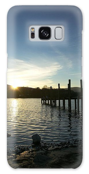 Lake District Sunset Galaxy Case