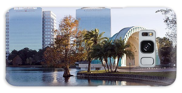 Lake Eola's  Classical Revival Amphitheater Galaxy Case by Lynn Palmer