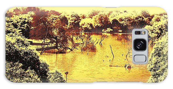 Lake In India Galaxy Case