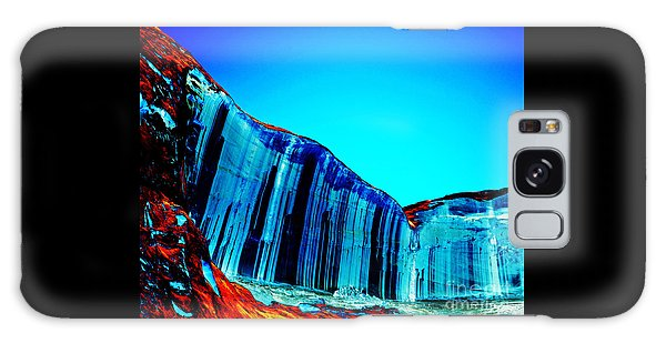 Lake Powell Blue Ice Galaxy Case by Rebecca Margraf