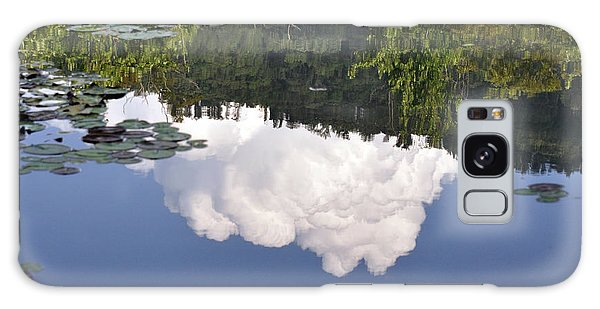 Lake Reflection Galaxy Case by Kay Lovingood