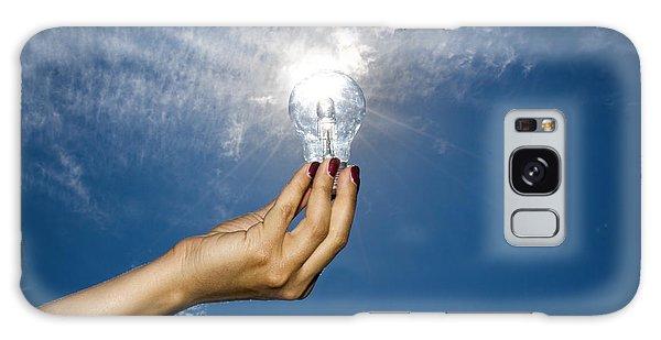 Lamp Bulb Galaxy Case