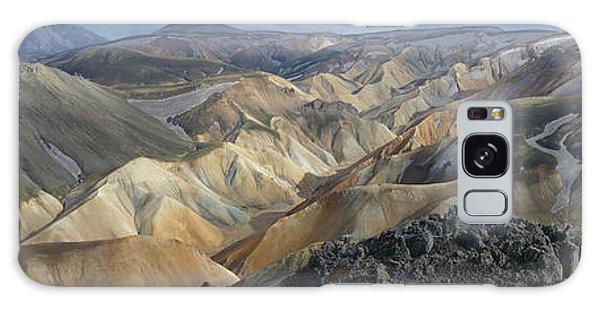 Landmannalaugar Panorama 1 Galaxy Case by Rudi Prott