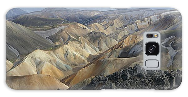 Landmannalaugar Panorama 1 Galaxy Case