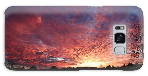 Lascassas Sunset Two Galaxy Case