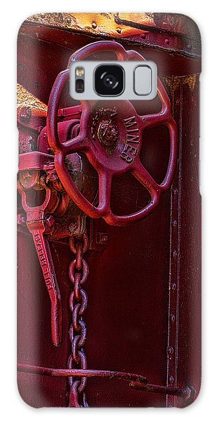 Last Red Caboose Galaxy Case by Ken Stanback