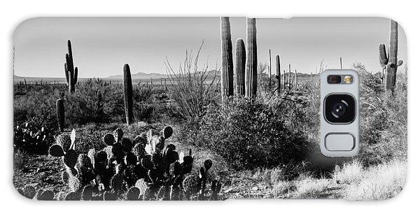Cacti Galaxy Case - Late Winter Desert by Chad Dutson