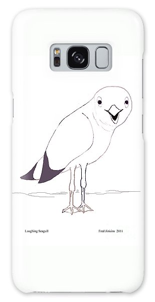 Laughing Seagull Galaxy Case