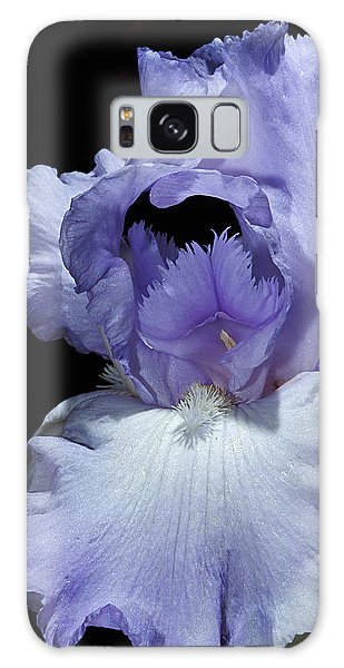 Lavender Blue Iris Galaxy Case