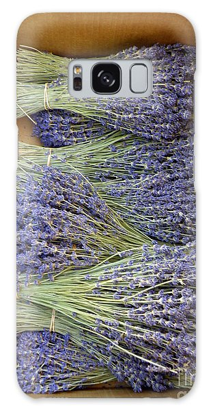 Lavender Bundles Galaxy Case by Lainie Wrightson