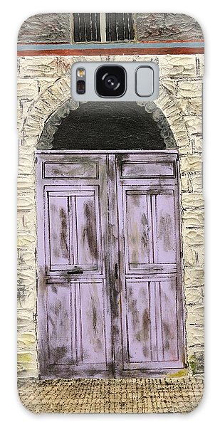 Lavender Door-france Galaxy Case