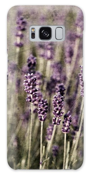Lavender Field Galaxy Case by Laura Melis