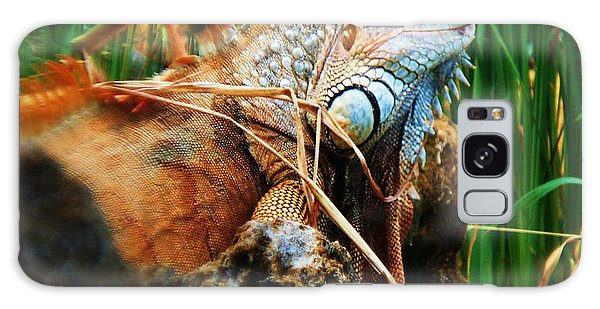 Lazy Lizard Lounging Galaxy Case