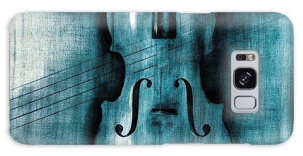 Violin Galaxy Case - Le Violon Bleu by Hakon Soreide