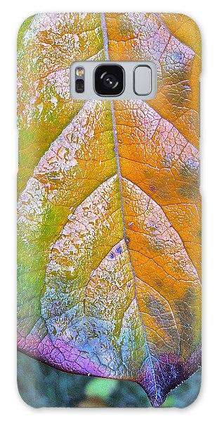 Leaf Galaxy Case by Bill Owen