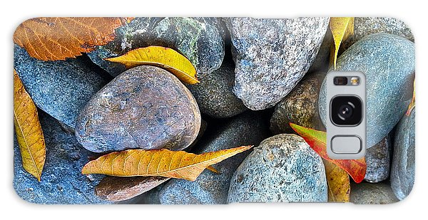 Leaves And Rocks Galaxy Case by Bill Owen