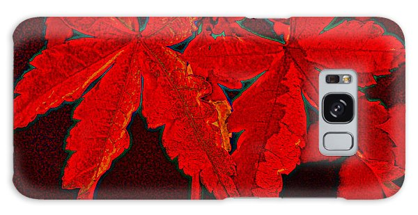 Leaves Of Red Galaxy Case