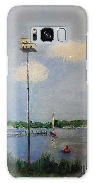 Online Shopping Cart Galaxy Case - Leaving The Nest by Karen Francis
