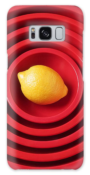 Lemon In Red Bowls Galaxy Case