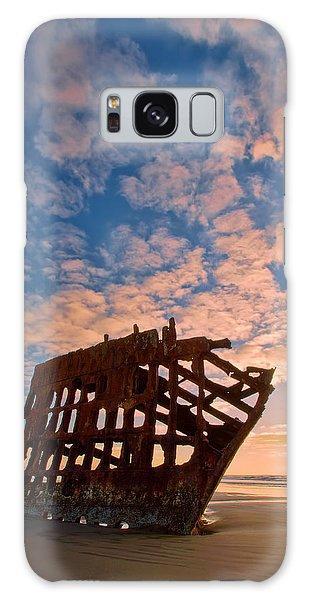 Peter Iredale Galaxy Case - Leopard Clouds by Dan Mihai