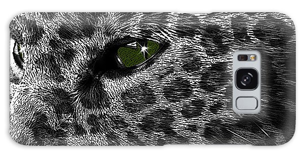 Leopard Within Galaxy Case