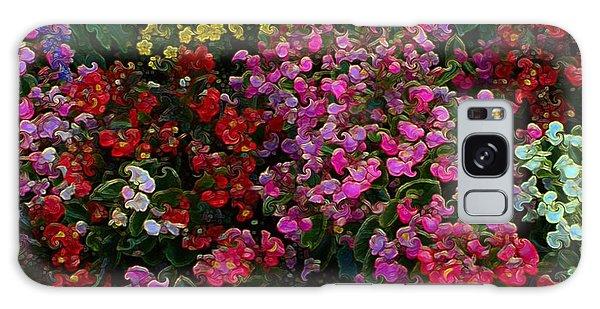 les fleurs II Galaxy Case