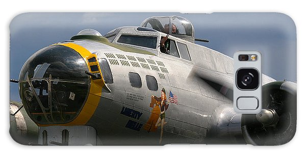 Liberty Belle B17 Bomber Galaxy Case by Ken Brannen