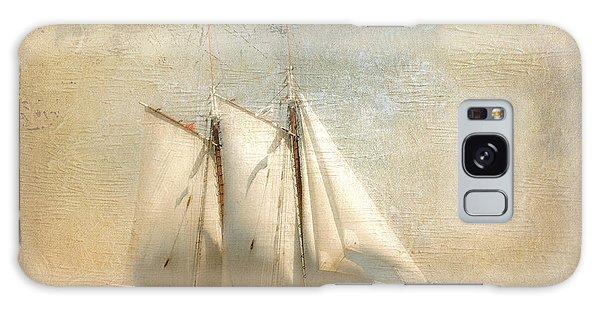 Liberty Clipper On Boston Harbor Galaxy Case