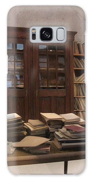 Library Sproockenhaus Galaxy Case