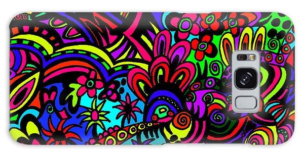 Galaxy Case - Life by Karen Elzinga