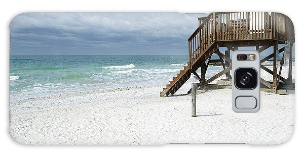 Bradenton Galaxy Case - Lifeguard Tower On The Beach by Skip Nall