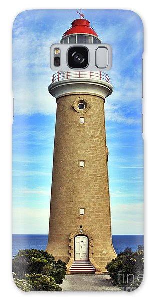 Light House At Cape Du Couedic Galaxy Case