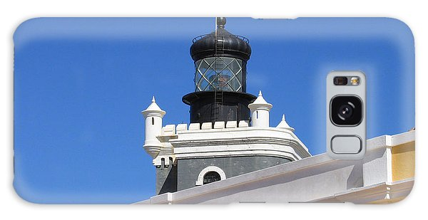 Lighthouse At Puerto Rico Castle Galaxy Case
