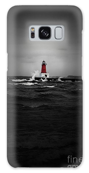 Lighthouse Glow Galaxy Case