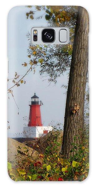 Lighthouse Mist Galaxy Case