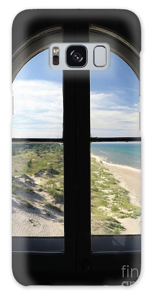 Lighthouse Window Galaxy Case