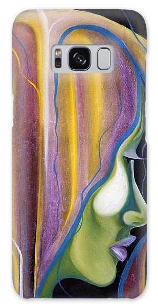 Lights II Galaxy Case by Sheridan Furrer