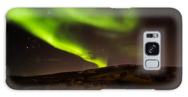Lights Over The Desert Galaxy Case