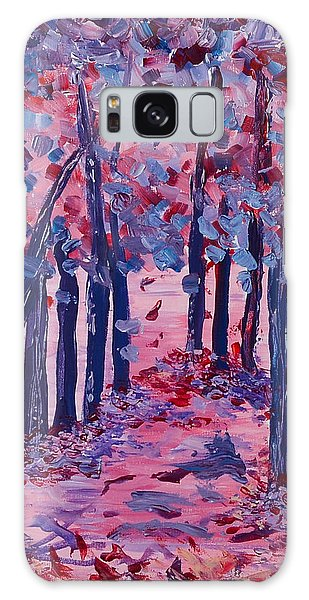 Lilac Avenue Galaxy Case by Judi Goodwin