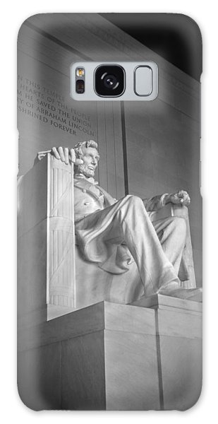 Lincoln Memorial  Galaxy Case by Mike McGlothlen
