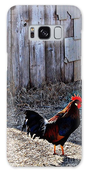 Little Red Rooster Galaxy Case