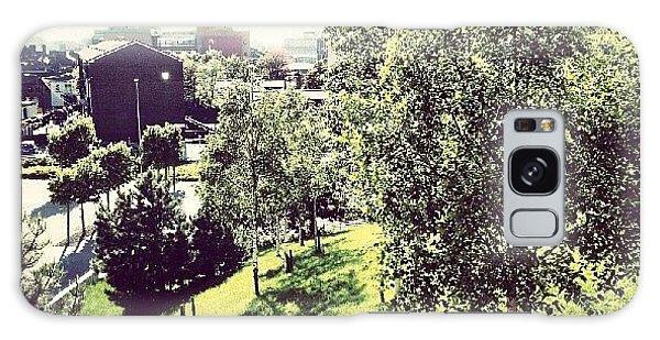 House Galaxy Case - #liverpool #uk #england #green #tree by Abdelrahman Alawwad