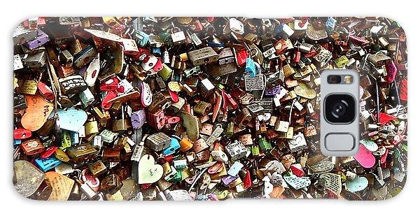 Locks Of Love Galaxy Case by Kume Bryant